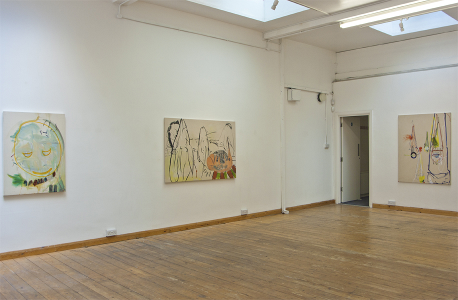 Installation view, Throwing Shapes solo exhibition, 84 Hatton Garden London 2015